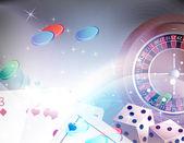 Gambling background — Stock Vector