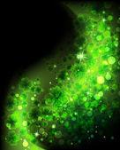 Magic four leaf clover background — Stock Vector