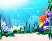 Underwater plants — Stock Vector