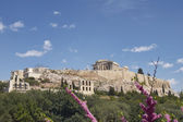 парфенон, афинский акрополь греции — Стоковое фото
