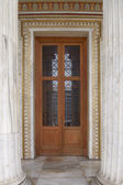National academy entrance, Athens — Stock Photo