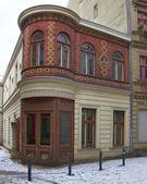 Antiga entrada de casa — Foto Stock