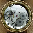 Watch mechanism closeup — Stock Photo