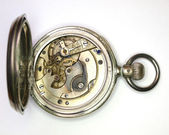 Vintage hand winding mechanical watch — 图库照片