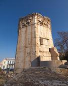 Antika romerska vind torn, Aten — Stockfoto