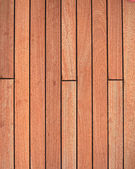 Teak wood deck closeup — Stock Photo