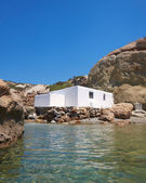 Fisherman's house by the sea — Stockfoto