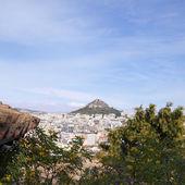 Lycabetus hill, Athens Greece — Stock Photo