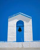 Steeple of a Greek church — Stock Photo
