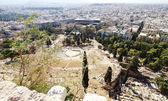 Antike Dionysos-Theater unter Akropolis — Stockfoto