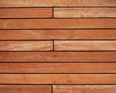 Natural teak wood background — Stock Photo