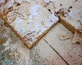 Greek sweet cream pie — Stock Photo