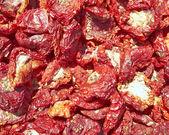 Sun dried tomatoes closeup — Stock Photo