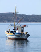 "Traditional Greek fishing boat ""kaiki"" — Stock Photo"