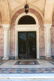 Door of Saint Andrew church, Patras Greece — Stock Photo