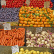 A feast of fruits and vegetables — Stockfoto