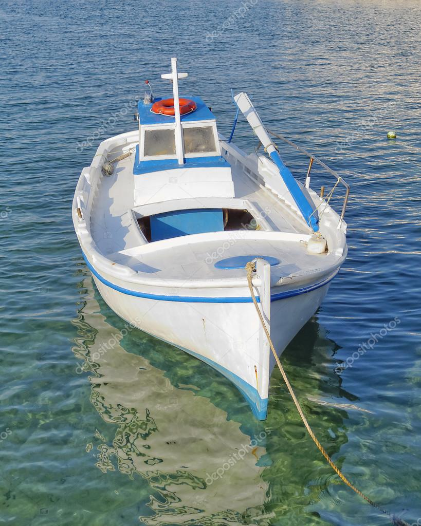 Small fishing boat stock photo dimitriosp 34889421 for A small fishing boat