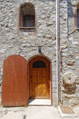 House facade, Chios island, Greece — Foto Stock