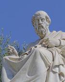 La statue du philosophe de platon — Photo