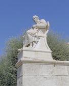 Plato the philosopher statue — Stock Photo