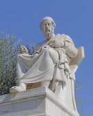 Plato the philosopher statue — Stock Photo