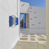 Blue & white, Tinos island, Greece — Stock Photo
