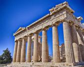 Templo antiguo partenón, atenas grecia — Foto de Stock