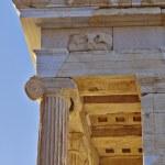 Athena Nike small temple (detail), acropolis of Athens — Stock Photo