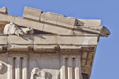 Parthenon west pediment detail — Stock Photo
