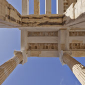 Ceiling of ancient greek building — Stock Photo