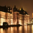 The Hague at Night - Stock Photo