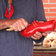 Making Clogs — Stock Photo