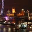Stock Photo: Thames Lights