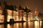 The Hague at Night — Stock Photo