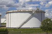 Große öl-silo — Stockfoto