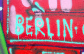 Berlín grafitti — Foto de Stock
