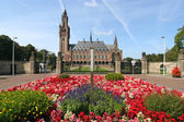 Peace Palace with Flowers — Stock Photo