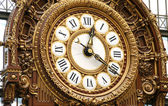 Ornamental Railway Clock — Stock Photo