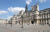 Paris. Hotel de Ville — Stock Photo