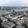 In the top of the tower of Cologne cathedral in Germany — Stock Photo