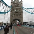 Stock Video: Tower Bridge in London, UK