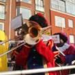 Black Pete brass band — Stock Video
