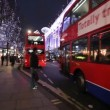 Oxford Street at Christmas in London — Stock Video