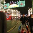 Regent Street in London at Christmas — Stock Video #36250017
