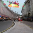 Regent Street in London at Christmas — Stock Video #36259973