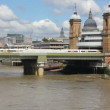 Stock Video: Railway Bridge in London, UK