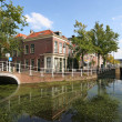 Stock Photo: Delft Canal