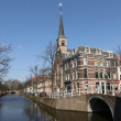 Stock Photo: Canal in Delft