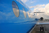 Flugzeug — Stockfoto