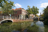 Delft Canal — Stock Photo